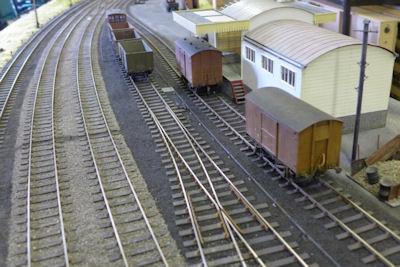 Another view of the goods shed
